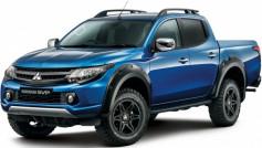 Bán tải Mitsubishi Trtion Barbarian sắp ra mắt