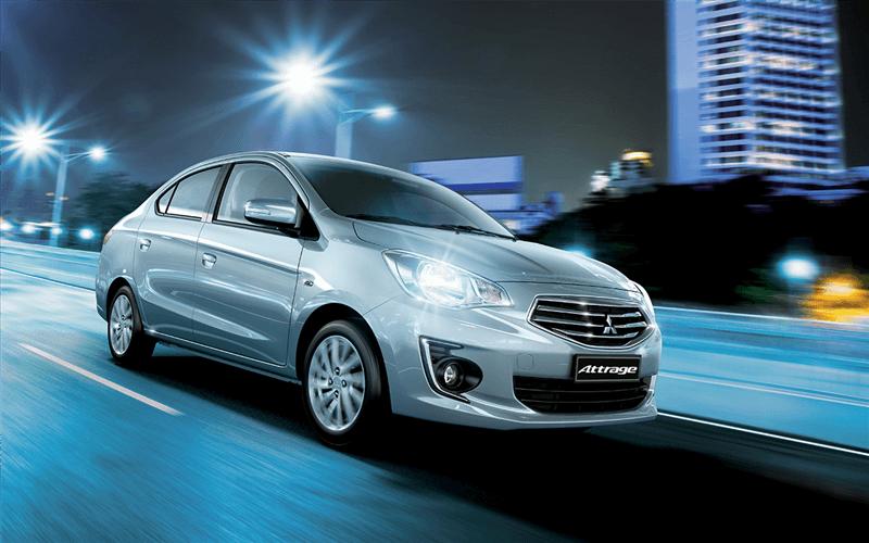Giá xe Mitsubishi Attrage cập nhật mới nhất tháng 5/2018