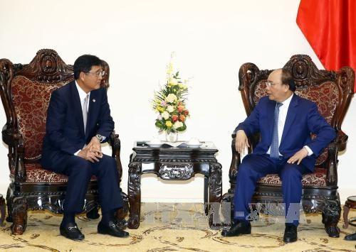 Thủ tướng Nguyễn Xuân Phúc tiếp Tập đoàn Mitsubishi Motors, Nhật Bản