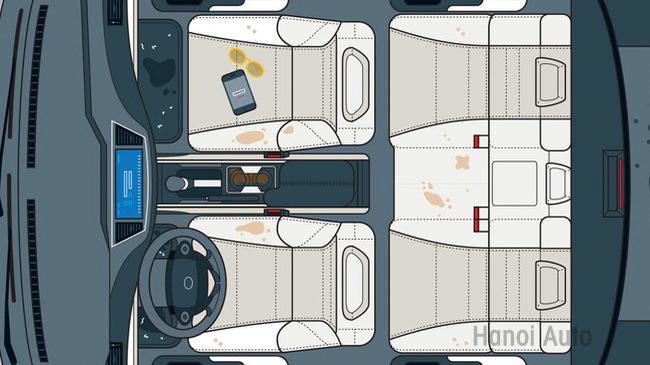 5 điểm siêu bẩn trên xe hơi thường bị bỏ quên khi vệ sinh