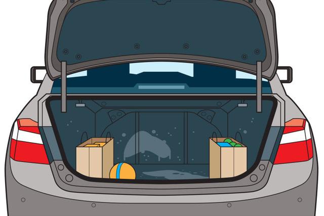 5 điểm trên xe hơi siêu bẩn do thường bị bỏ quên khi vệ sinh