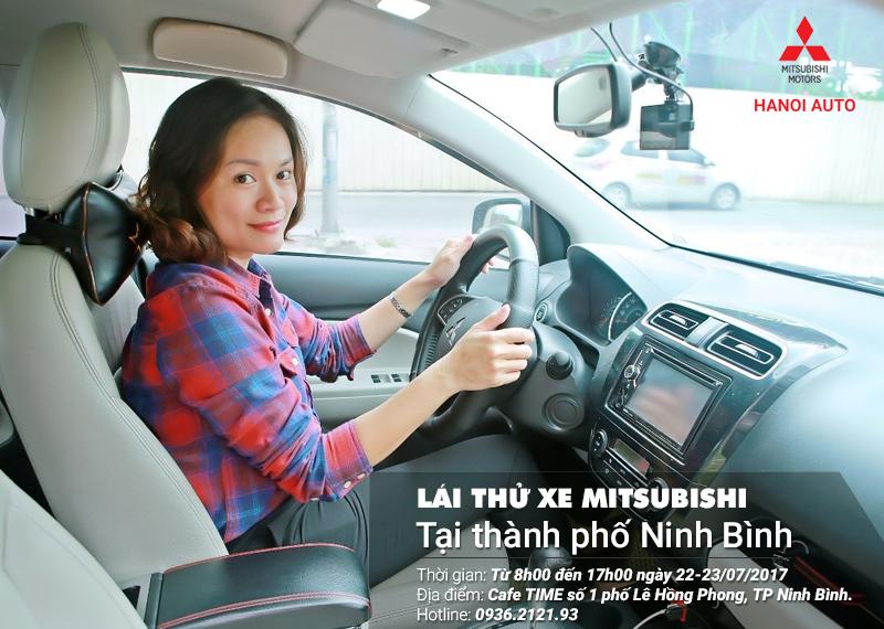 Sự kiện trưng bày và lái thử xe tại thành phố Ninh Bình