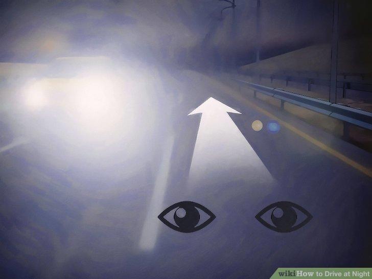 Tránh đèn lóa vào mắt