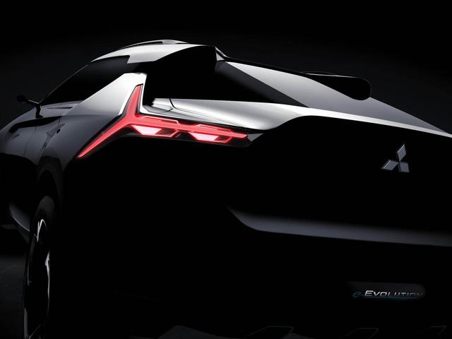 Mitsubishi e-Evolution – Crossover công nghệ cao sẽ ra mắt trong tháng này