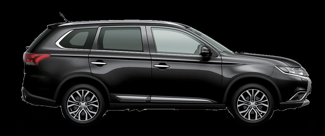 Mitsubishi Outlander màu đen