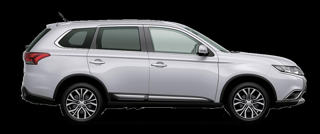 Mitsubishi Outlander màu trắng