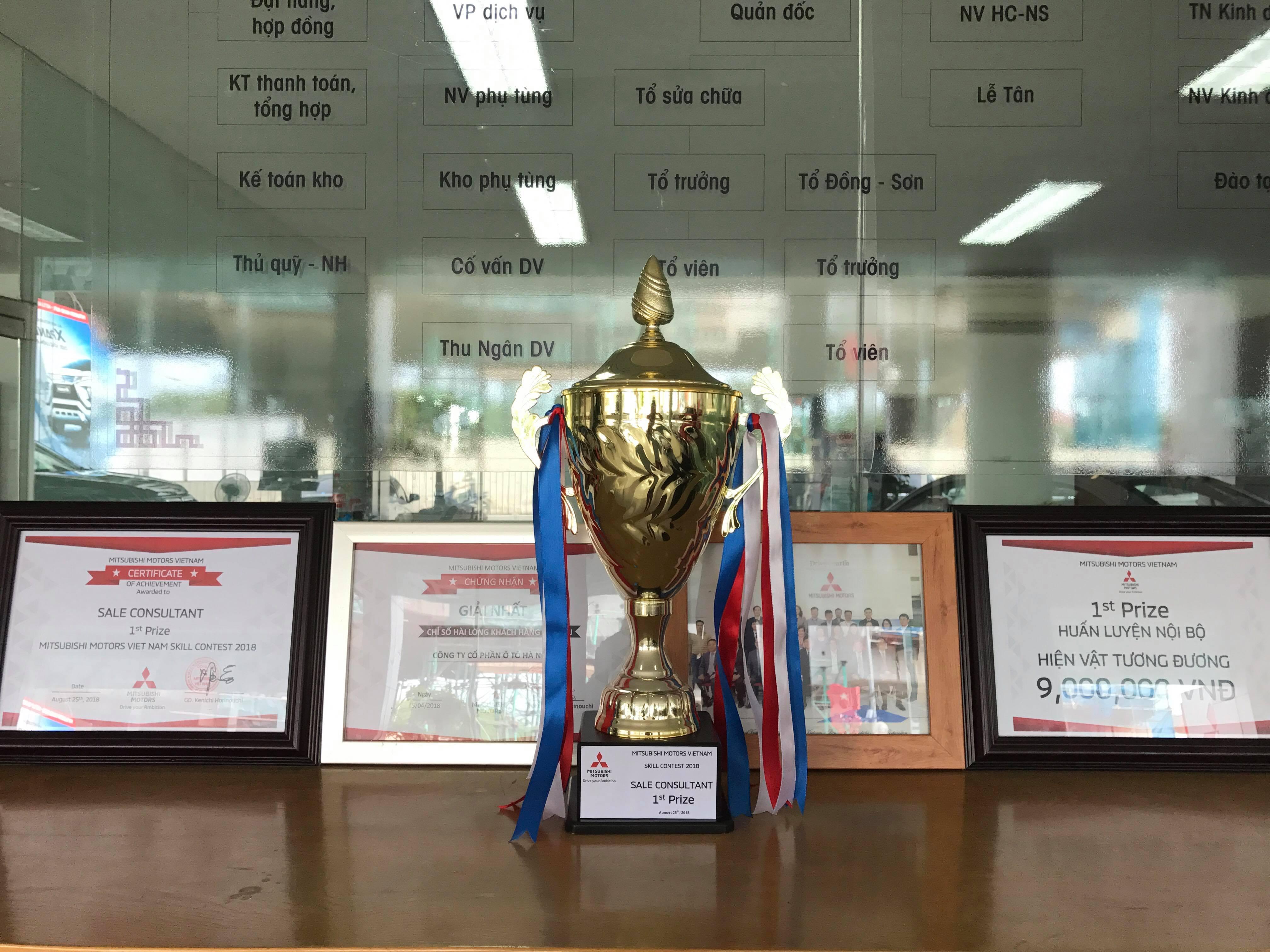 đoạt giải nhất kỹ năng bán hàng