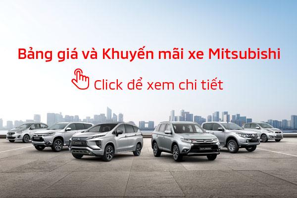 Bảng giá xe Mitsubishi tháng 05-2020