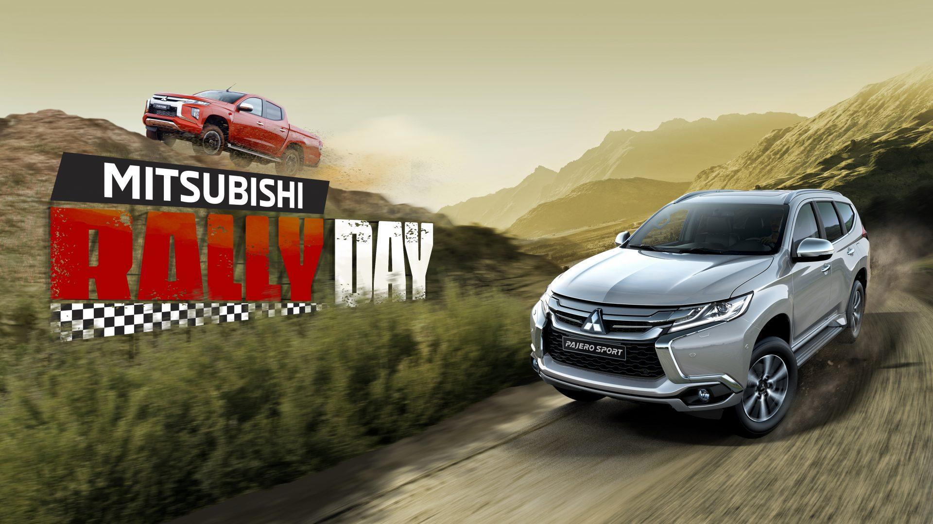 MITSUBISHI RALLY DAY – Đăng ký trải nghiệm Triton & Pajero Sport cùng Racing AKA
