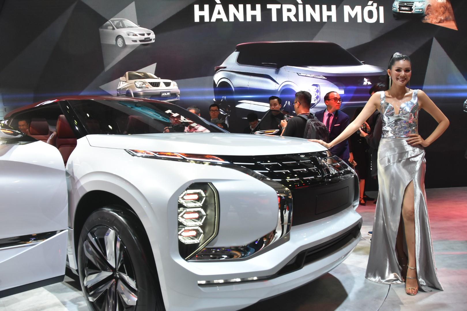 Mitsubishi Motors Việt Nam giới thiệu phiên bản đặc biệt kỷ niệm 25 năm tại triển lãm Vietnam Motor Show 2019