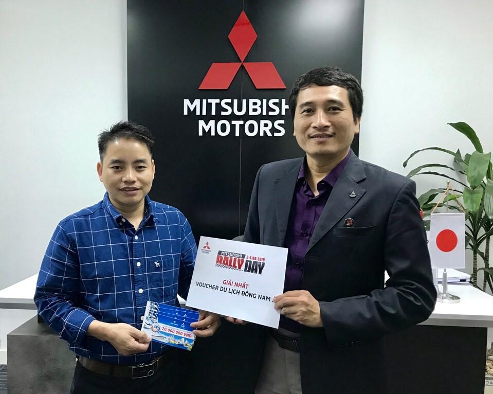 """Công bố danh sách khách hàng trúng giải thưởng chương trình """"Tận hưởng ưu đãi cùng Mitsubishi-Mitsubishi Rally Day"""""""