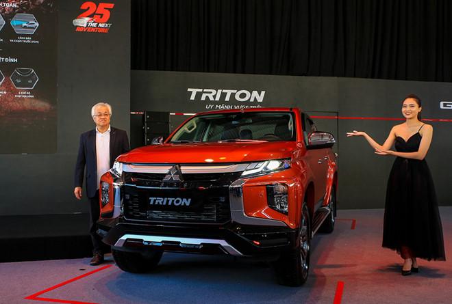 [NHỮNG ĐIỂM MỚI] nâng cấp trên Mitsubishi Triton 2020 tại Việt Nam