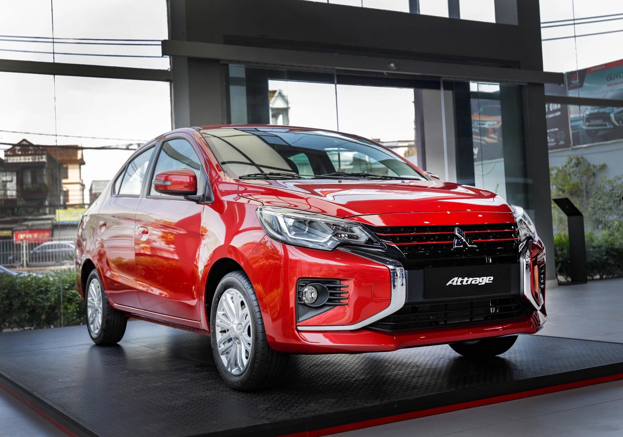 Mitsubishi Attrage bán kỷ lục hơn 1.000 xe/tháng, lọt top 10 xe bán chạy tại Việt Nam